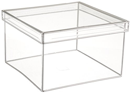 Design Ideas Lookers Box, Square, Large, Clear