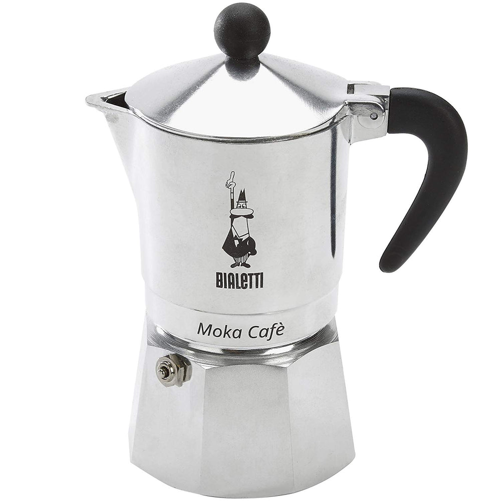 Bialetti 5923 Moka Cafe Break Espresso Maker, Black, 3CUP