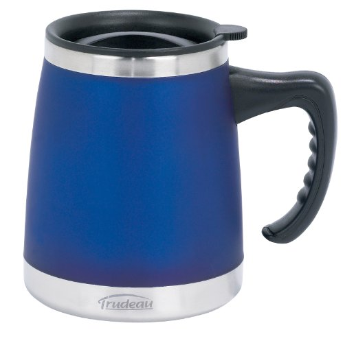 UMBRIA DW DESK MUG BLUE 15OZ TAG