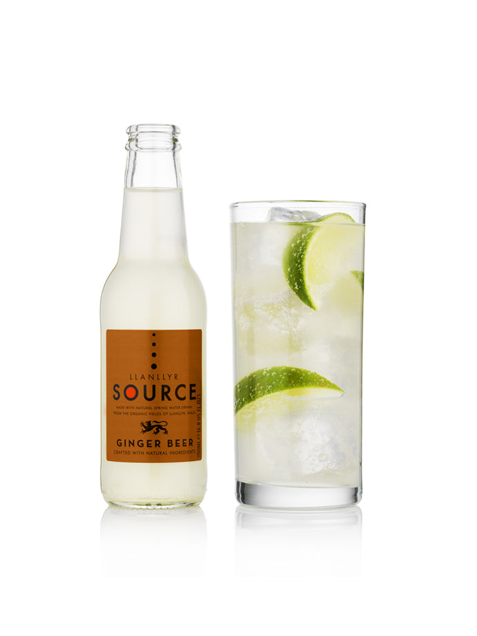 Llanllyr Source Ginger Beer 4 x 4 200ml- Set of 16
