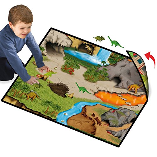 Dinosaur Playmat with 5 Bonus Dinosaur Figures