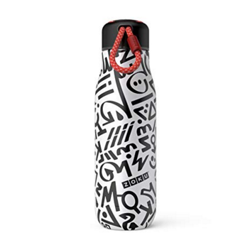 Zoku Modern Calligraphy 18oz Stainless Bottle