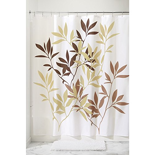 Leaves Stall Size Shwr Curtain