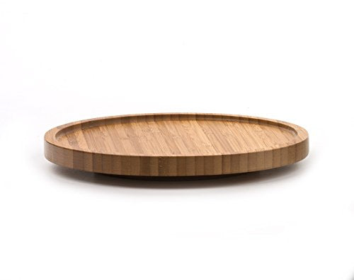 Natural Bamboo Tool Crock Turntable