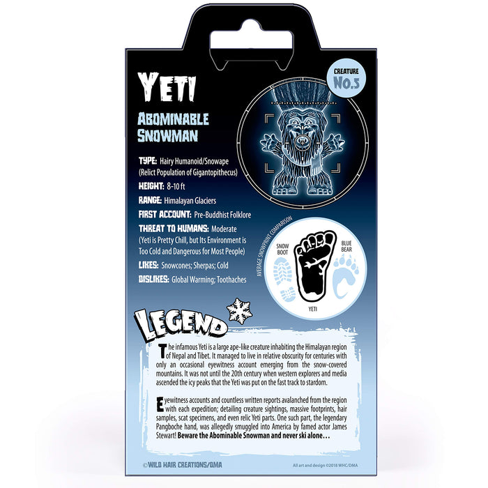 Yeti - Creatures of Legend & Lore