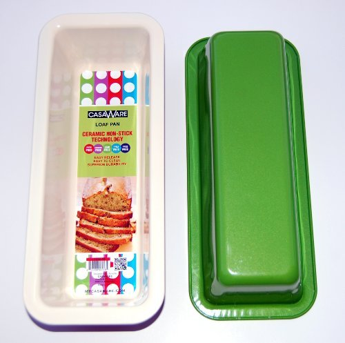 "116879 Green  Loaf Pan 12"" x 5"" x 3"""