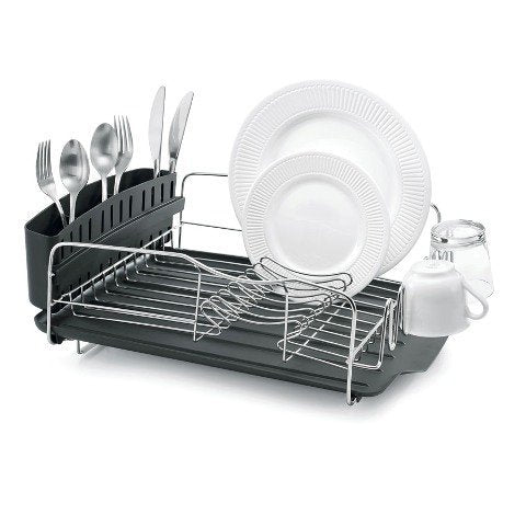 Advantage 3-Piece Stainless Steel Dish Rack