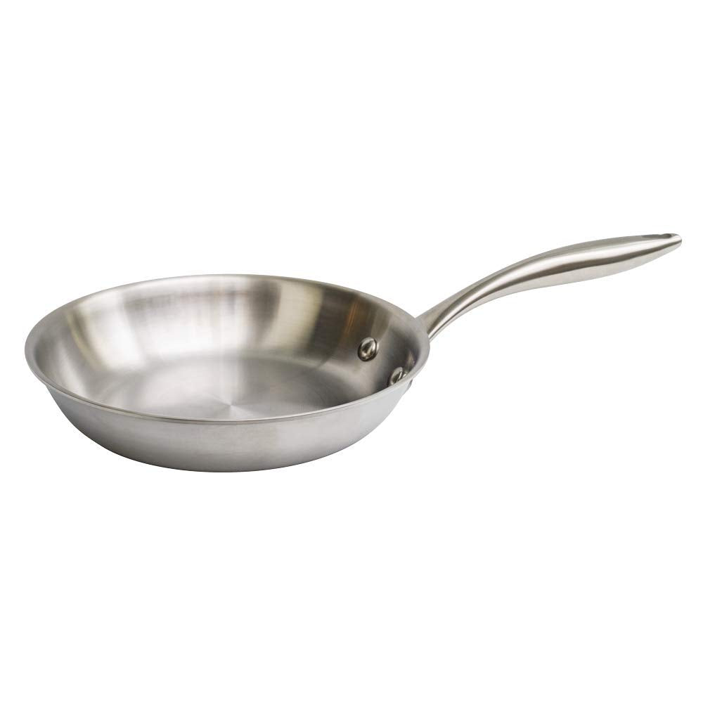 "8"" Stainless Steel Skillet"