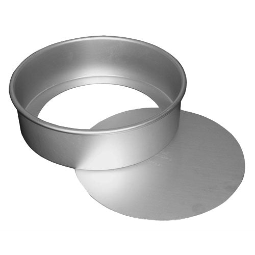 Fat Daddio's Anodized Aluminum Round Cheesecake Pan with Removable Bottom, 6 Inch x 2 Inch