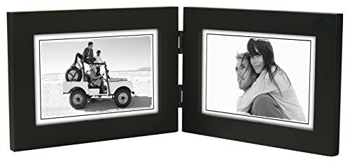Malden Linear Wood Black Picture Frame