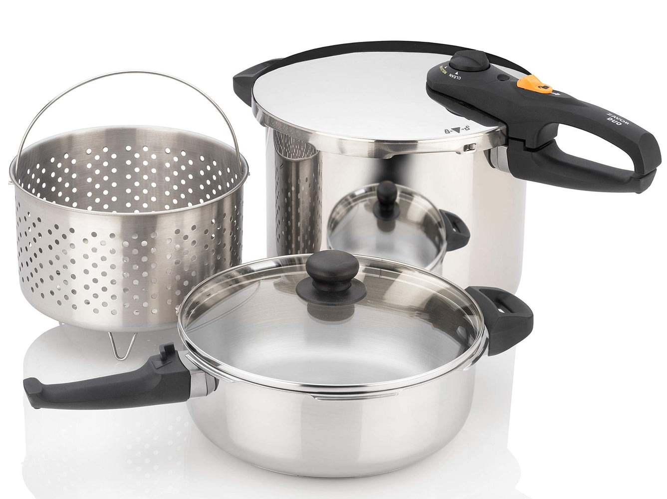 Duo Combi Set 4.2 qt and 8.4 qt