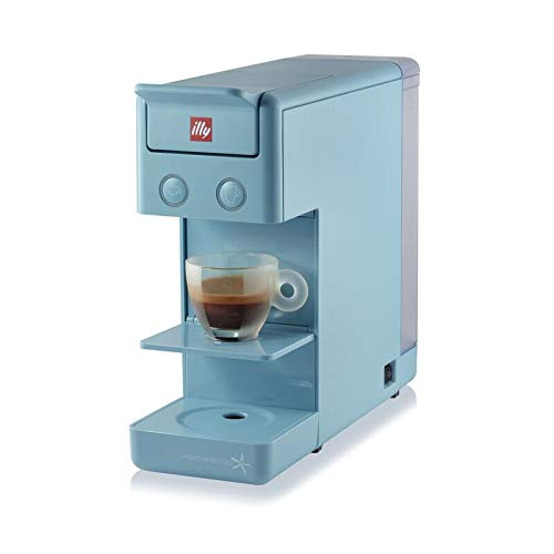 illy Y3.2 iperEspresso and Coffee Machine, CAPE TOWN BLUE