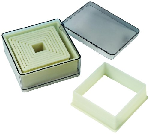 Fat Daddio's 9-Piece Square Square Nylon Cutter Set