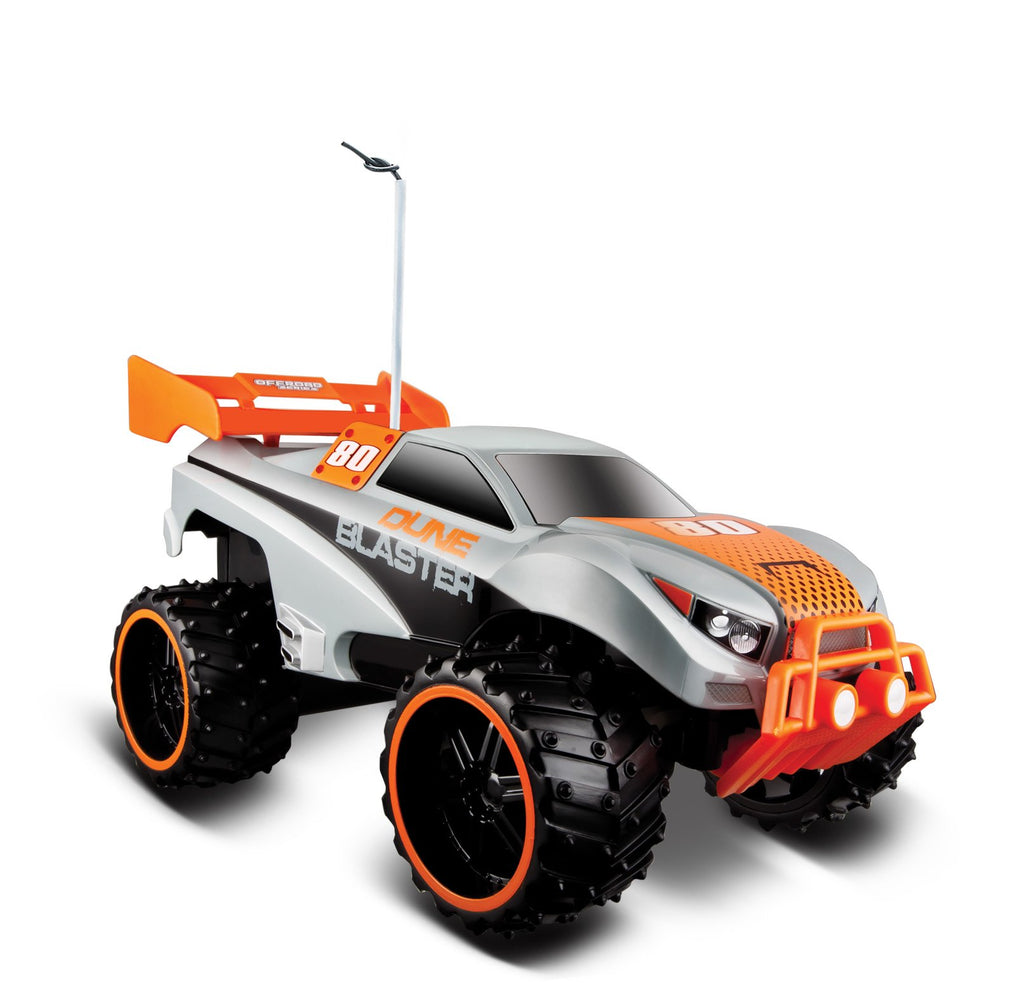 Maisto R/C Dune Blaster 1:16 Off Road Series Remote Control Vehicle 49MHz, Blue