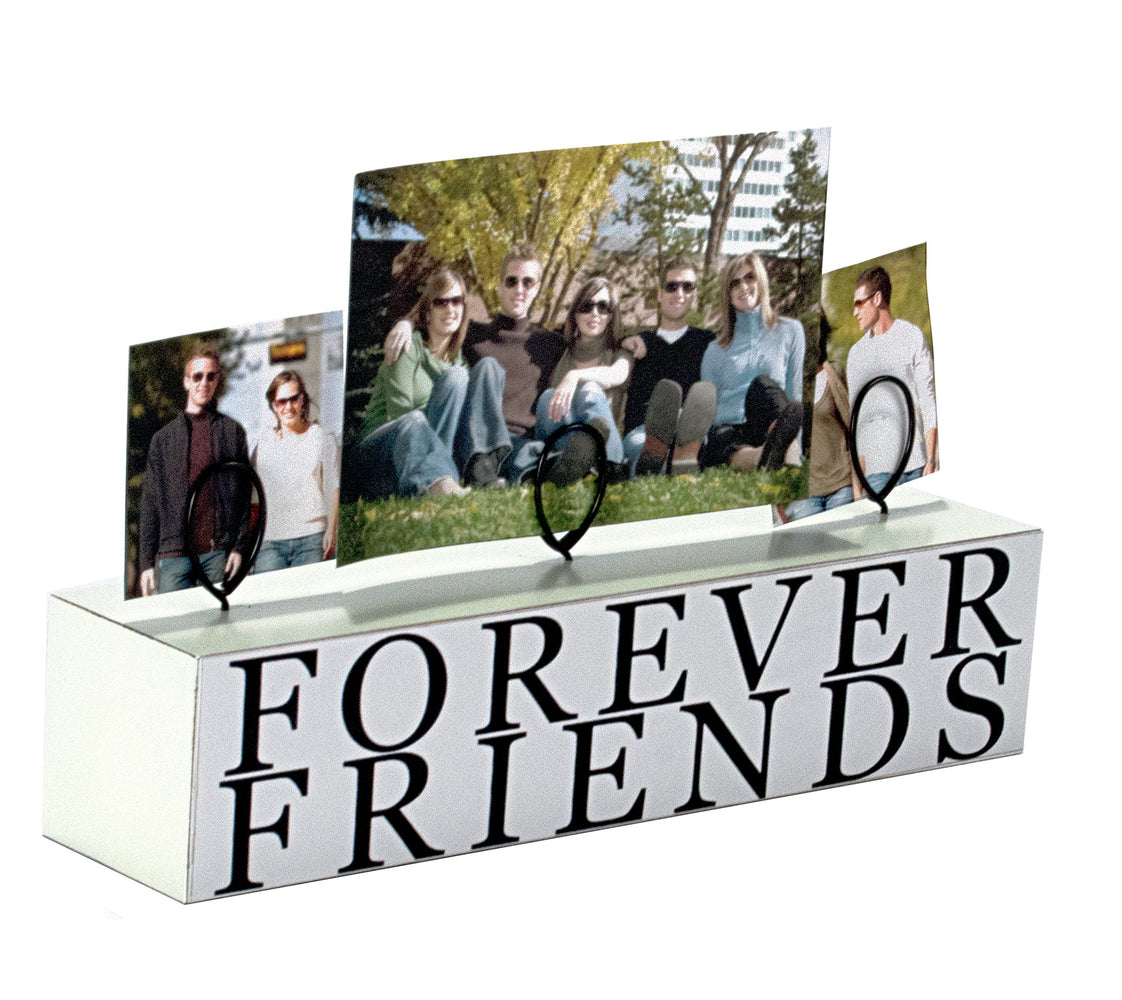 3 PHOTO FOREVR FRNDS STAND -p-