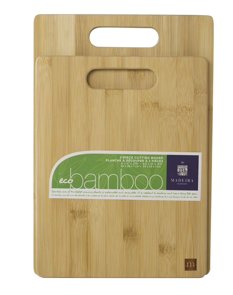 2pc bamboo set / Madeira