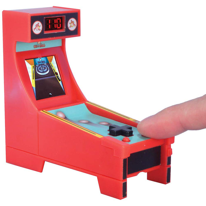 Boardwalk Arcade SkeeBall Mini Electronic Arcade Video Game