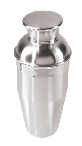 Oggi 12 Ounce Stainless Steel Mini Cocktail Shaker