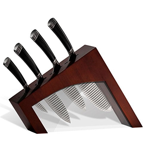 118953 5pc Knife Block Set ESPRESSO