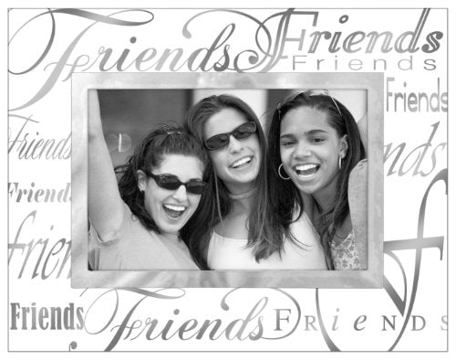 4X6 FRIENDS METALLIC GLASS