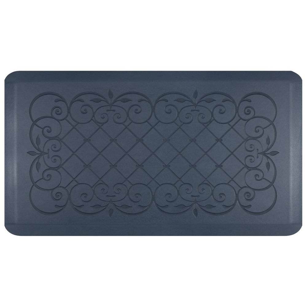 "Smart Step Home Collection Anti-Fatigue Mat, Blue Lagoon, 36"" X 20"""