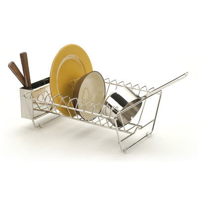 RSVP Endurance Stainless Steel In-Sink Dish Drying Rack
