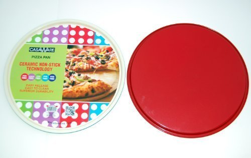116888 Red Pizza Pan 13.5""
