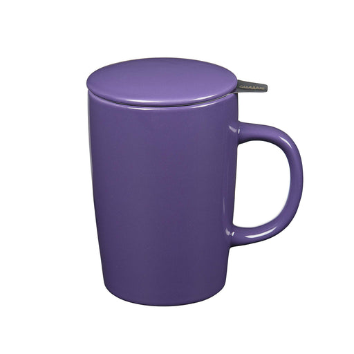 16 oz Tea Infuser Mug Purple