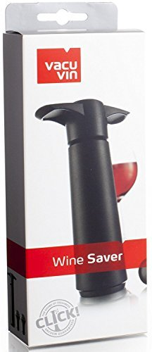 Vaccuum Wine Saver w/ Set of 6 Colored Stoppers