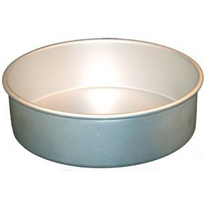 Fat Daddio's Anodized Aluminum Round Cake Pan, 12-Inch x 4-Inch