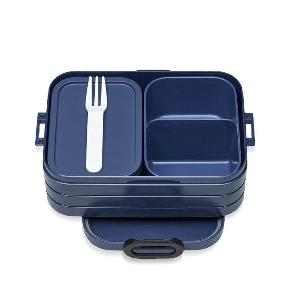 BENTO Lunch Box Midi 18.5x12cm/7x4.7 Nordic-Denim