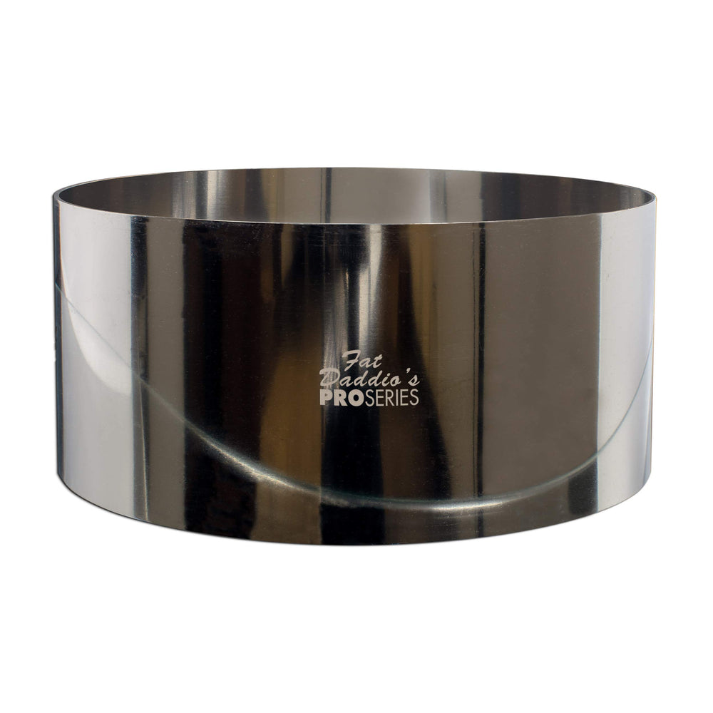 "Pro Series Rings round stainless steel 8"" x 3"""