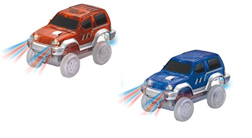 Super Snap Speedway - 2 Pack of Light Up Cars