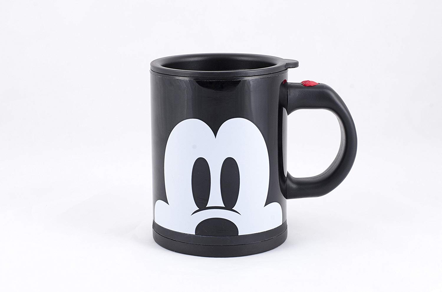 Disney Mickey Mouse 16 oz. Stainless Steel Self Stirring Travel Mug