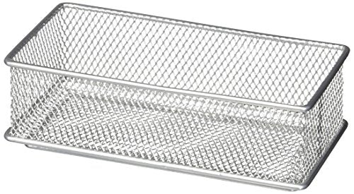 Design Ideas Mesh Drawer Store, Silver, 3 by 6-Inch