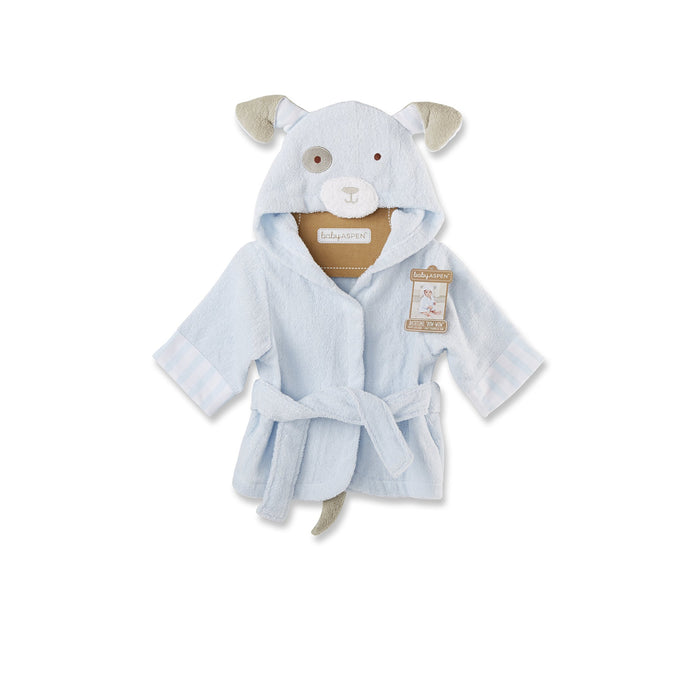 Bathtime Bow Wow Puppy Hooded Spa Robe