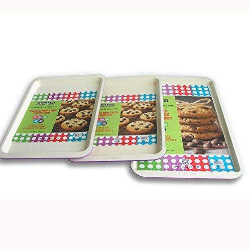 117972 Purple Cookie Sheet 3pc Set