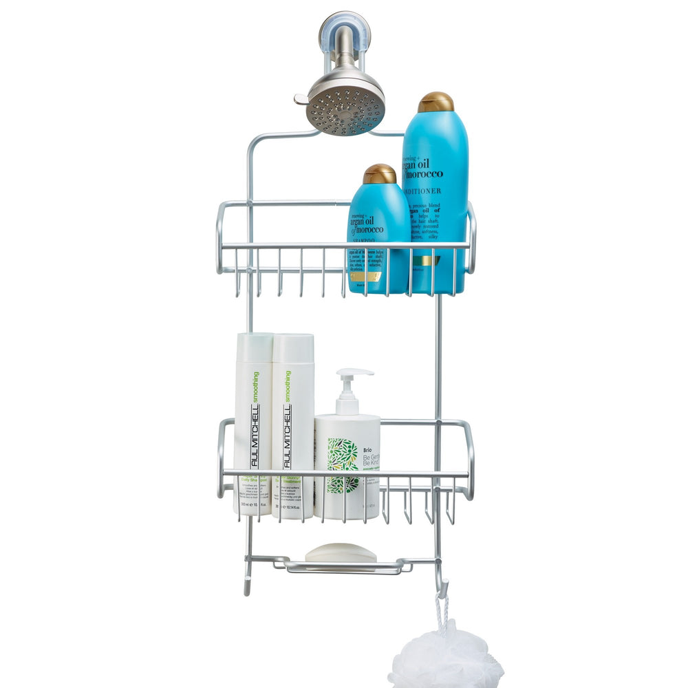 Shower Caddy  silver finish
