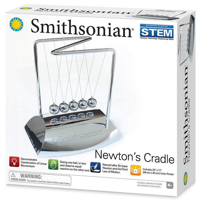 Smithsonian Science Activities, Newtons Cradle Gray