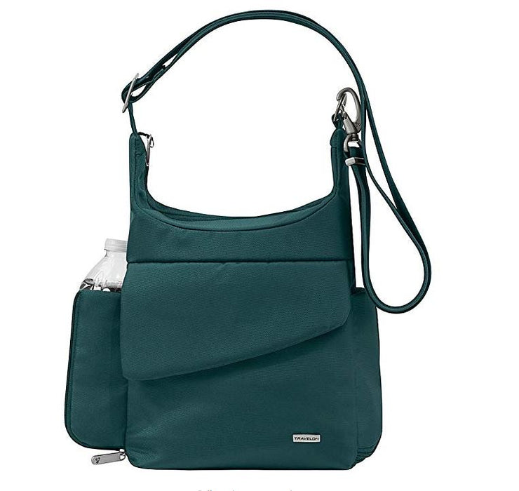 Travelon Anti-Theft Classic Messenger Bag (Peacock)