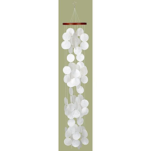 Woodstock Capiz Waterfall Wind Chime