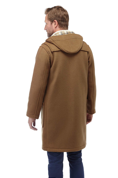 Mens Wooden Toggles Duffle Coat (42, Camel) Large