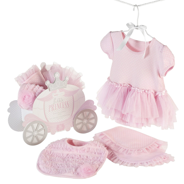 Baby Aspen Little Princess 3 Piece Gift Set Pink