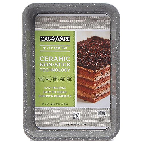 "118688 Silver Rectangular Cake Pan 9"" x 13"""