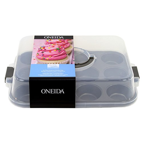 Oneida 12 Cup Non-Stick Covered Muffin Pan