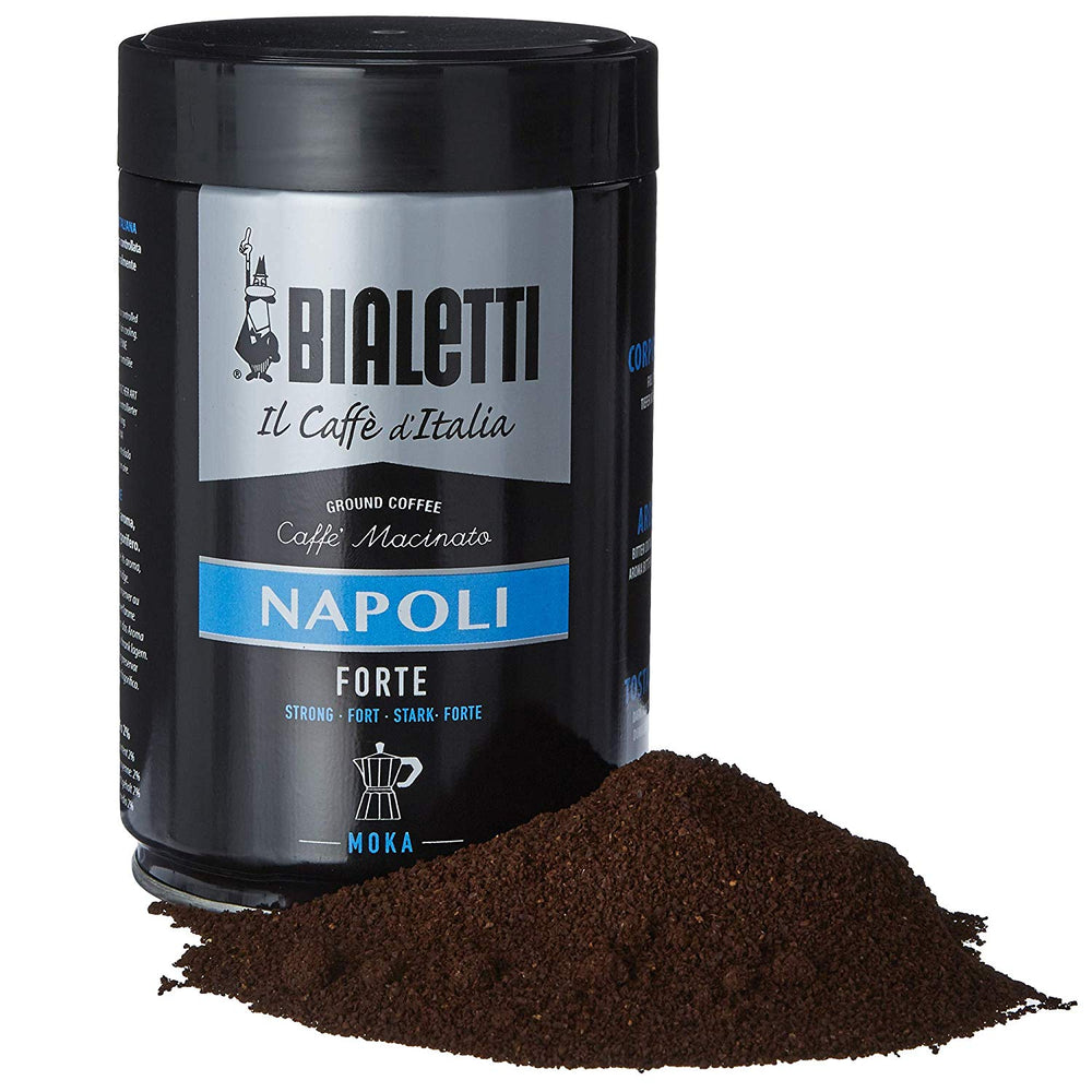 Bialetti 6639 Napoli Ground Moka Coffee, 8.8 oz, Brown
