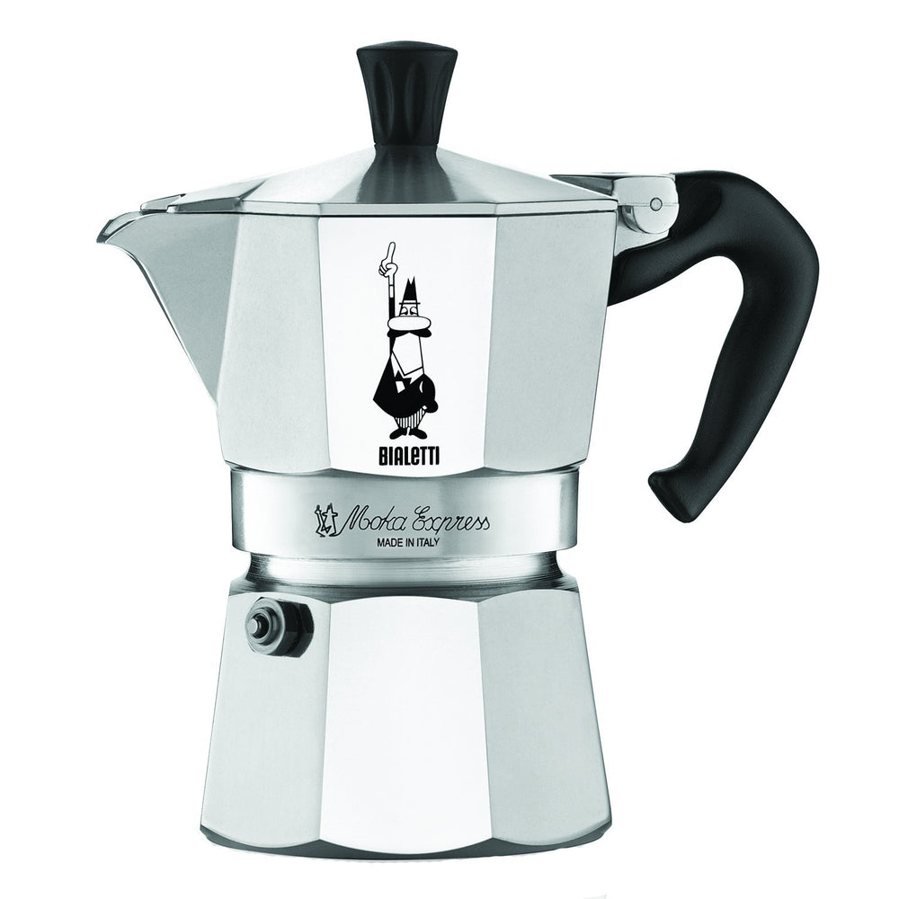 Bialetti Moka Express Stovetop Espresso Makers, 3CUP