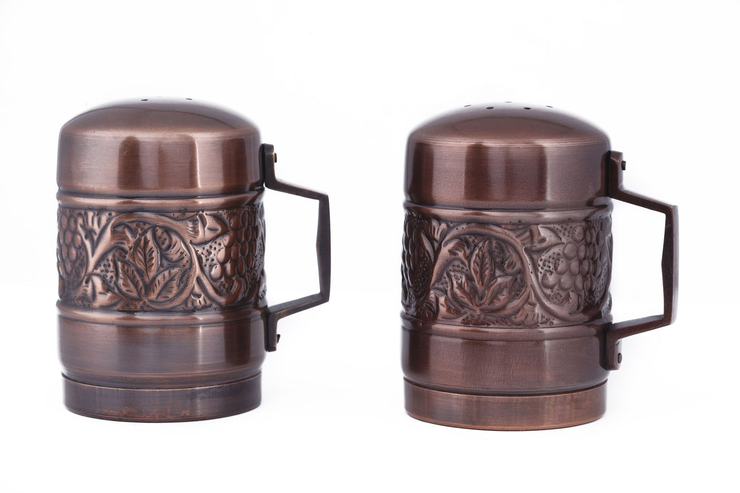 Old Dutch International 4? Inch Antique Embossed Stovetop Salt & Pepper Set