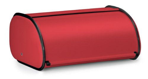 Polder 210201-30 Deluxe Bread Box Red
