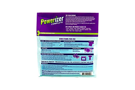 Powerizer 2-in-1 Laundry & Dishwasher Concentrated Detergent, 3 Lb